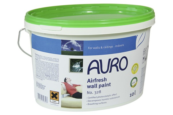 Pintura aire limpio efecto catalítico 328